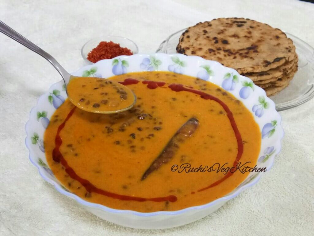 Jain recipes ruchis veg kitchen this whole black gram curry is so delicious and so easy to prepare perfect meal for on going jain festival paryushan or on tithi days when jains dont forumfinder Image collections